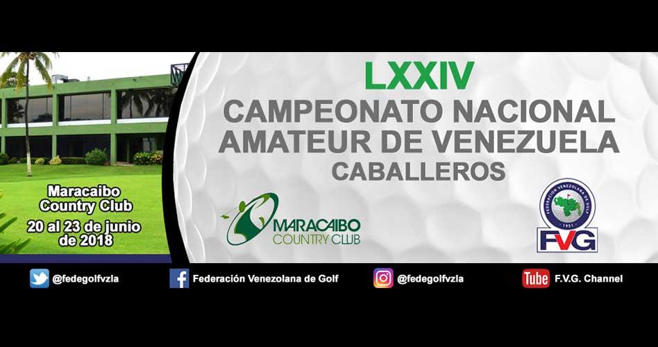 Campeonato Nacional Amateur de Venezuela – Horarios de Salida