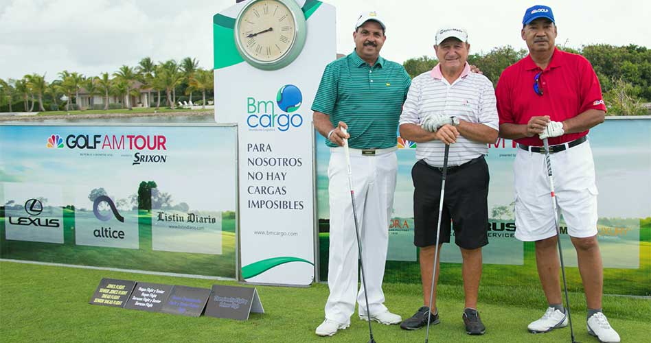 Carrasco y Doñé, campeones Seniors 5ta. Parada Golf Channel AM Tour RD