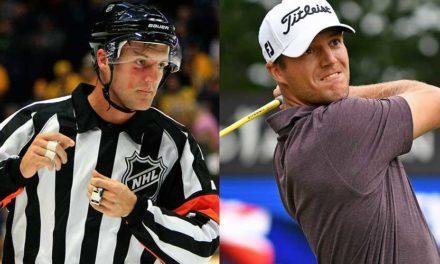 Del hielo al pasto: Arbitro del hockey de la NHL que venció al cáncer jugará el US Open en Shinnecock