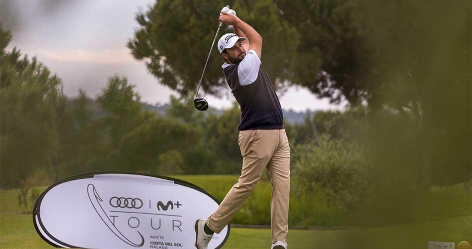 El Audi Movistar+ Tour Race To Costa del Sol disputa nuevas pruebas en Palomarejos  Golf