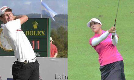 El boliviano José Luis Montaño y la colombiana María José Uribe, en los lideratos del golf en los Juegos Sudamericanos 2018