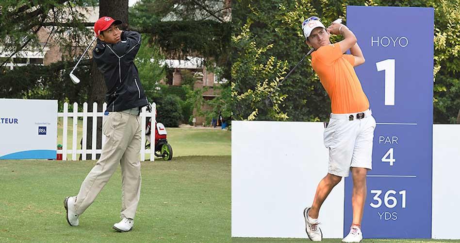 El canadiense Chris Crisologo y el colombiano Iván Camilo Ramírez, por Sudamérica en el European Amateur Championship esta semana