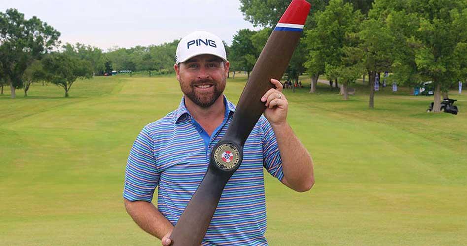 El estadounidense Brady Schnell, el campeón al final del Wichita Open