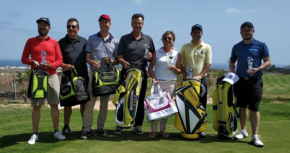 El Torneo Bridgestone de Golf dejó en Lanzarote Golf una jornada emocionante