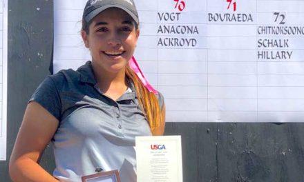 Ela Anacona primera en la Clasificación del US Girls' Junior