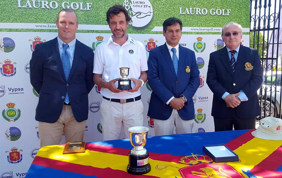Felipe Fernández se lleva el Campeonato de España Masculino de 3ª Categoría celebrado en Lauro Golf