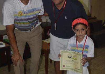 Galería, premiación del 1er Abierto Sambil Juvenil