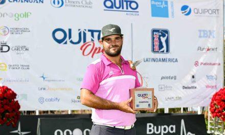 Horacio León logra la victoria en el Quito Open 2018
