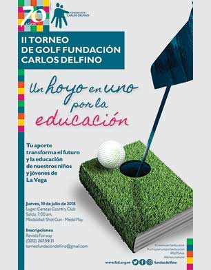 II Torneo de Golf Fundación Carlos Defino, 19 de Julio. Caracas Country Club