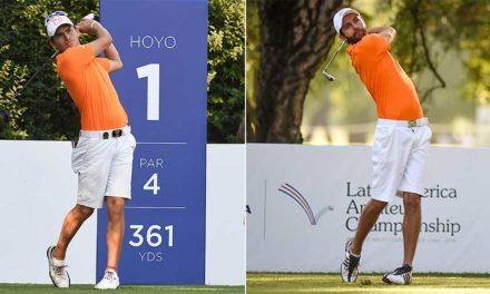 Iván Camilo Ramírez y Pablo Torres, esta semana en el Mexican Amateur International