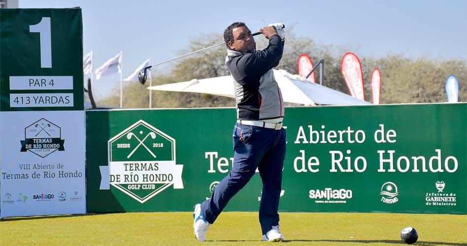 Juan Álvarez, nuevo puntero en el Abierto de Termas