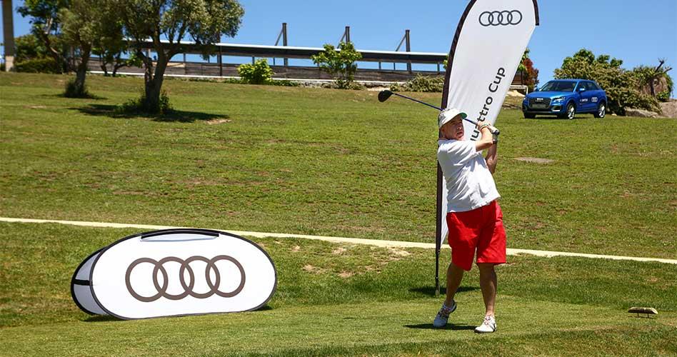 La Audi quattro Cup de golf supera el ecuador de la temporada tras su paso por Montealegre, Larrabea y Llavaneras