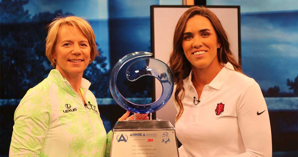 La mejor golfista colegial del mundo, ¡es mexicana!