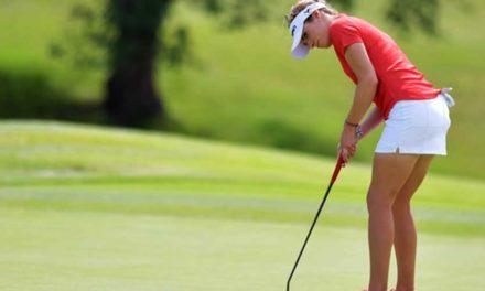 López fue la única latinoamericana que bajó el par en el Women's PGA Championship; Franco está 41° en el US Senior Open