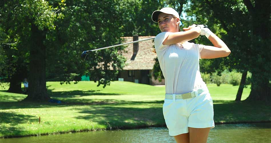 Magdalena Simmermacher avanza a Cuartos de Final en el WWGA National Amateur Championship
