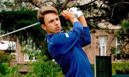 Marcos Montenegro avanza en el Amateur Championship