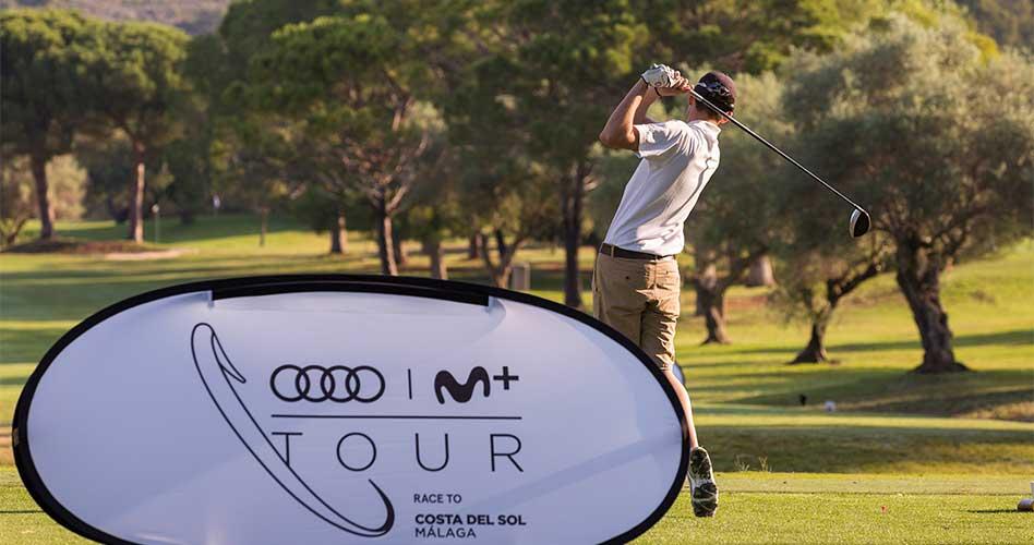 Nueva cita del Audi Movistar+ Tour Race To Costa del Sol en Club de Campo del Mediterráneo