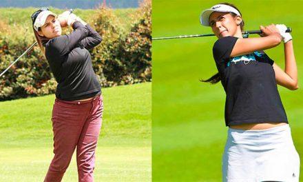 Paula Hurtado y Alejandra Cangrejo, en el 'field' del The Forsyth Classic del Symetra Tour