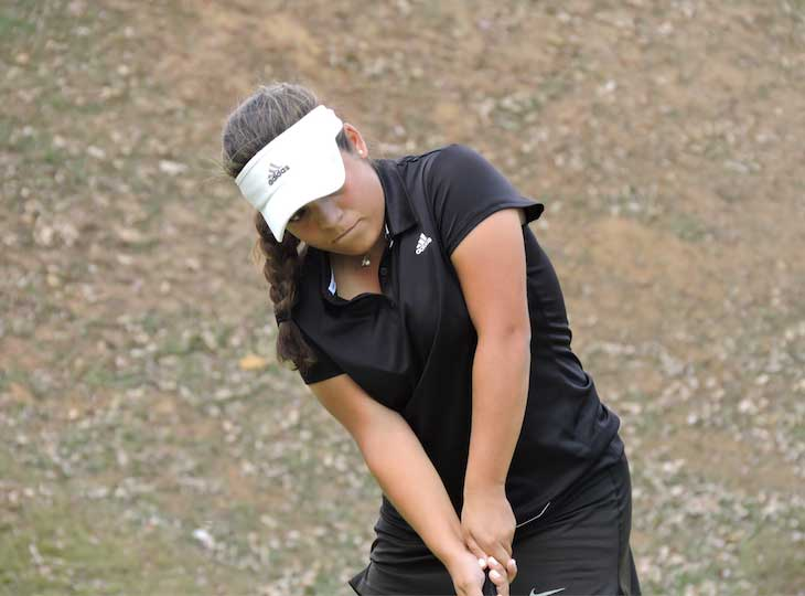 Claudia Perazzo campeona del primer Abierto Sambil Juvenil de golf