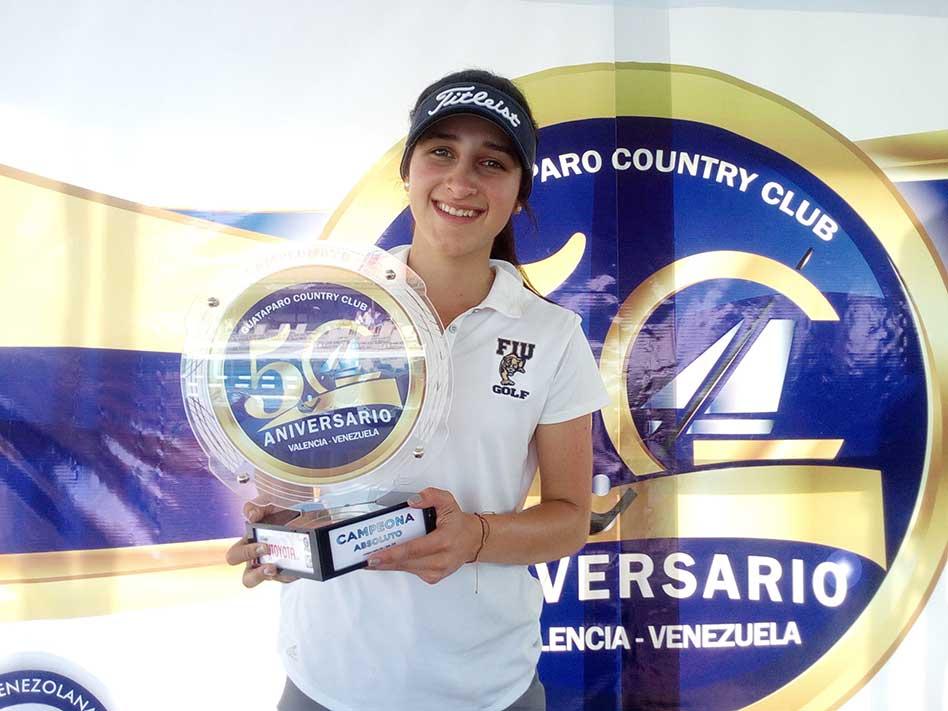 Valentina Gilly, quien nos representará en el Mundial Amateur