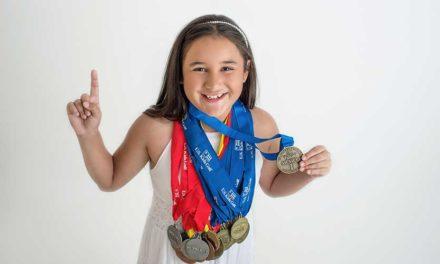 Sara Luciani, la pequeña gigante en el golf