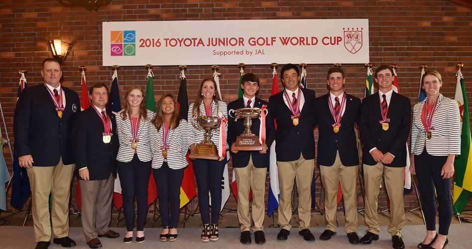 USA defenderá título de Copa Mundial Juvenil de Golf en damas y caballeros por 1ra vez en la historia
