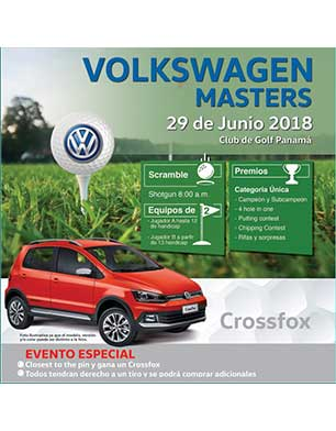 Volkswagen Masters 2018, 29 de Junio, Club de Golf de Panamá