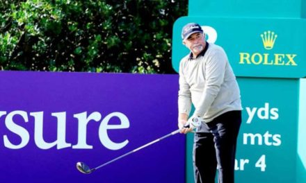 Ángel Franco compite en el Senior Open