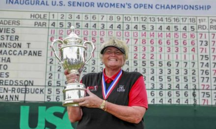 Dama Davies muy distinguida en 1ra edición del US Senior Women's Open
