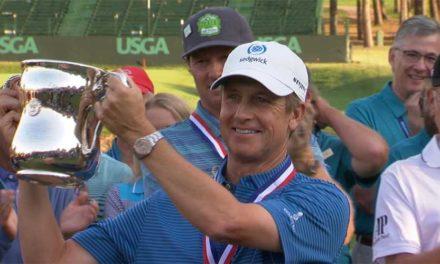 """David Toms conquista su primer """"grande"""" como veterano en el US Senior Open; Franco termina en el casillero 28°"""