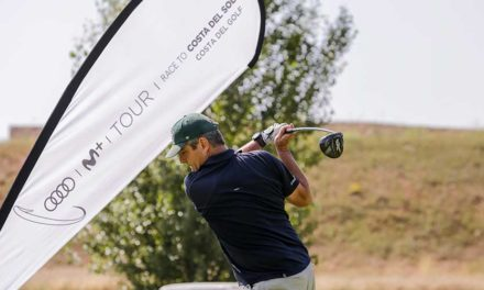 El Audi Movistar+ Tour Race To Costa del Sol disputa dos nuevos torneos en Saldaña Golf