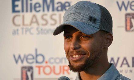 El tres veces campeón de la NBA Steph Curry vuelve a competir en el Web.com Tour
