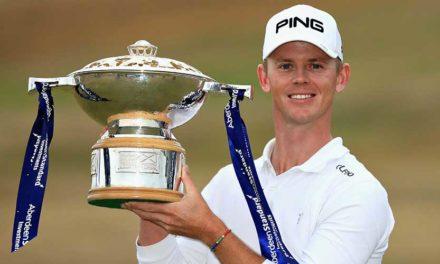 En el Scottish Open, Brandon Stone celebró el triunfo