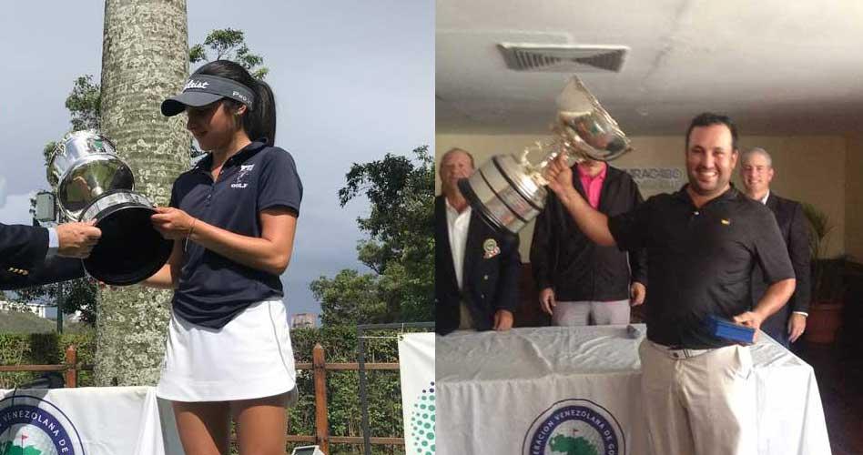 Gilly y Prieto se adueñaron con honores del Nacional Amateur de Venezuela
