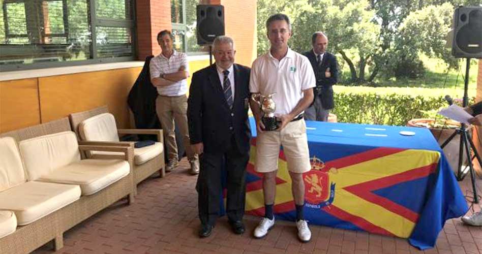 Ignacio González se anota un nuevo triunfo en el IV Puntuable Nacional Senior Masculino