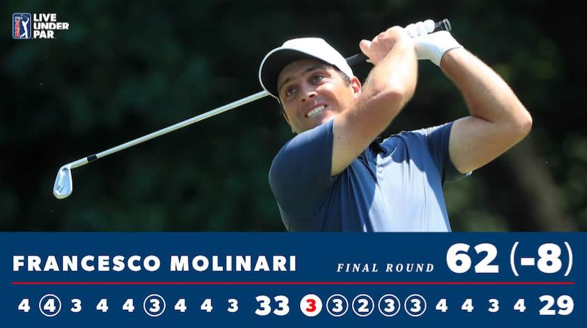 Molinari 1er triunfo PGA y suma 8 victorias