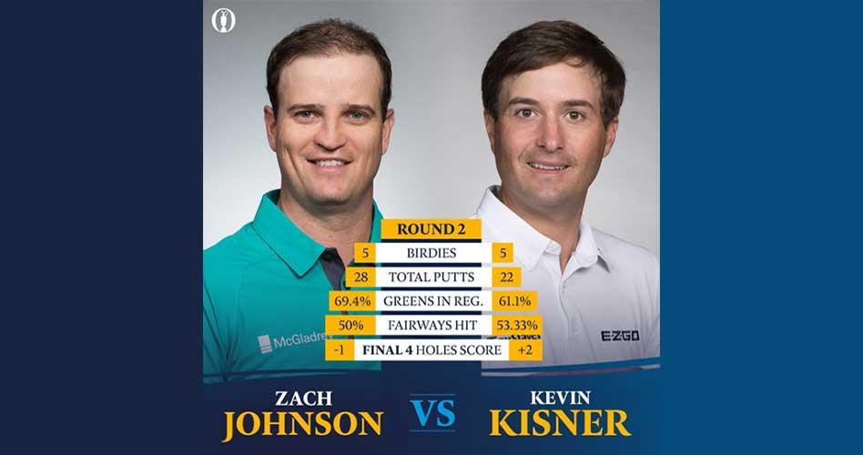 Johnson y Kisner sin temores en Carnoustie