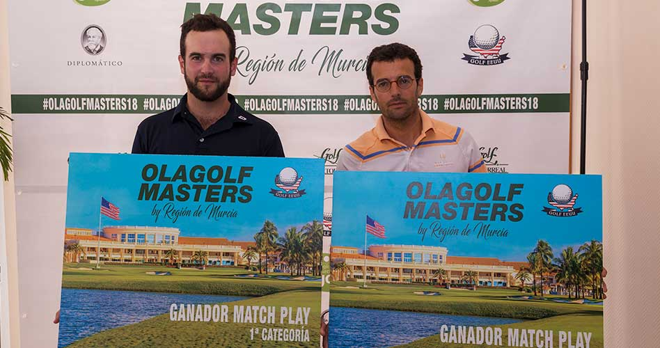 Jordi Sansó y Mario Morales ganan la III Edición del Olagolf Masters