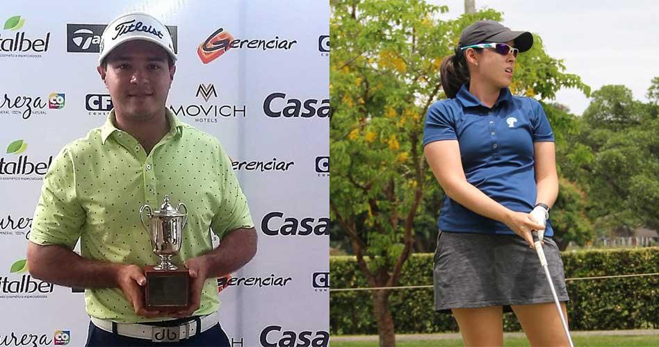 José Mario Vega y Silvia Garcés, ganadores del torneo del Eje Cafetero en Pereira