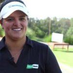 La primera boricua en la élite del golf, la LPGA