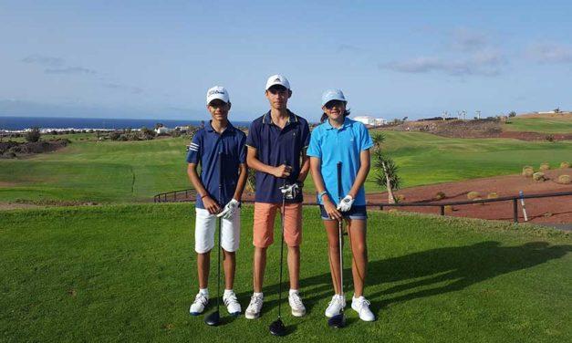 Lanzarote Golf acogió la cuarta prueba del Circuito Infantil de Lanzarote