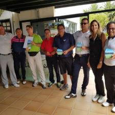 Lanzarote visitado por los mejores golfistas profesionales de Canarias