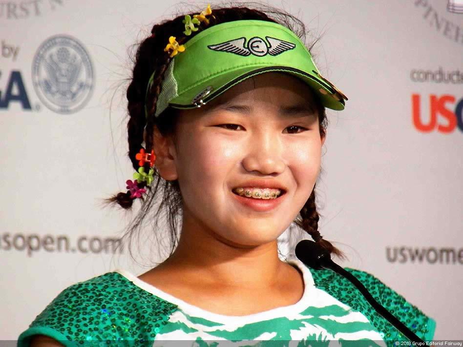 Lucy Li hace su camino al  andar