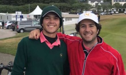Pereda avanza en el The Amateur Championship