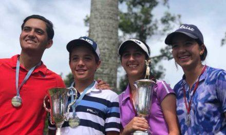 Vanessa Gilly y Miguel Llamoza Campeones Juveniles de Venezuela