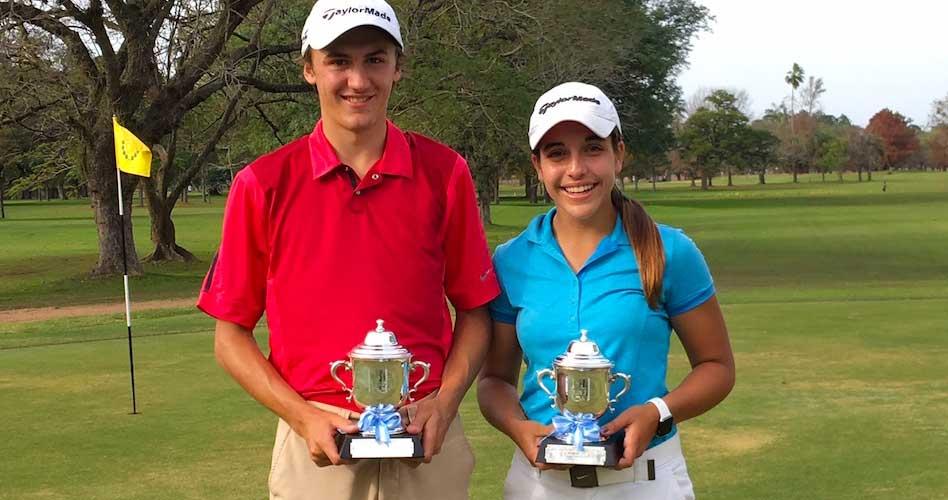 Vicente Marzilio y Ela Anacona ganan el Tercer Torneo de Menores