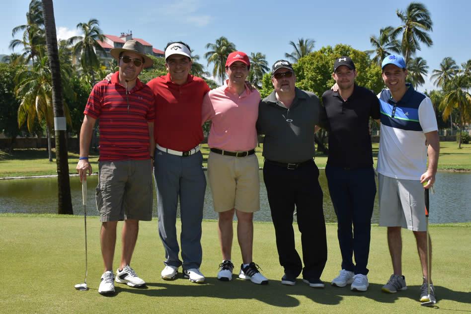Fernando Lorenzo Salazar, Enrique Pérez Colorado, Juan Ignacio Rivero, Raúl Federico Aguilar, René Alberto Meza y Santiago Llano Zapatero