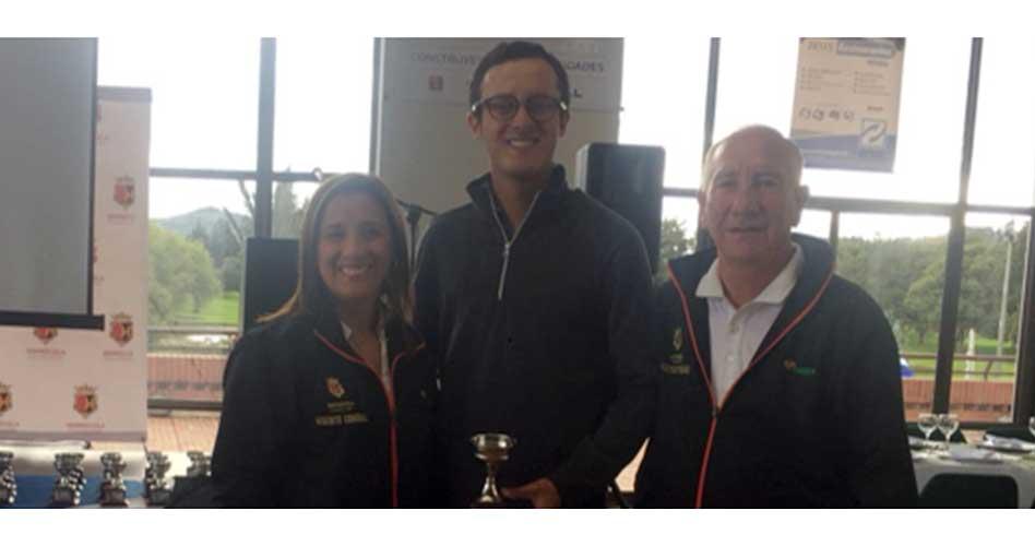Alejandro Restrepo gana el II Torneo Internacional Aficionado del Serrezuela
