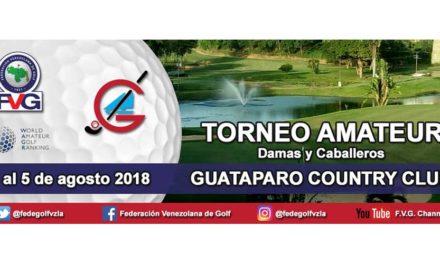 Alejandro Restrepo toma la punta en Guataparo – Horario de Salida Torneo Amateur GCC