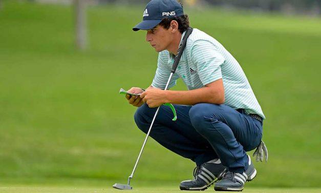 Chileno Niemann comienza con buen pie el PGA Championship